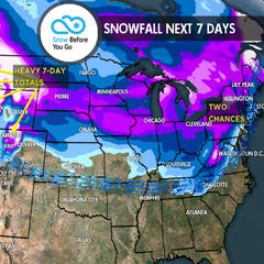 2.1 Snow Before You Go: Powder Surfing on Waves of Snow - ©Meteorologist Chris Tomer