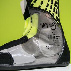 Bei HEADs Liquid Fit System wird bei Bedarf der Schuh mit einer Art Gel gefüllt - © Skiinfo | Sebastian Lindemeyer