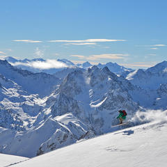ski freeride grand tourmalet - © Pauline VIGNEAU
