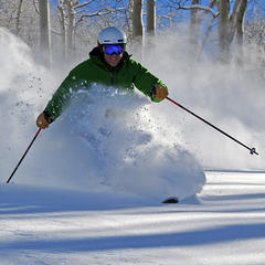 The snow is piling up at Steamboat - © Larry Pierce