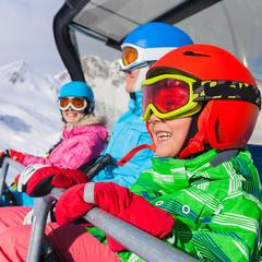 Najlepšie rakúske lyžiarske strediská pre rodiny 2019/20 - ©Max Topchii - Fotolia.com