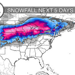 4.13 Snow Before You Go: Spring Storms for Both Coasts - ©Meteorologist Chris Tomer