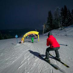 ski de nuit manigod