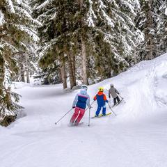 ski hors piste manigod