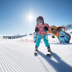 Ako správne vybrať dĺžku lyží pre deti? - ©Andre Schoenherr