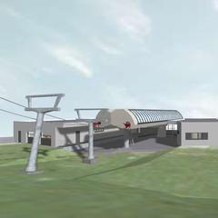 Nová údolní stanice lanovky Silverjet ve středisku Katschberg - © Katschberg