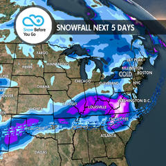 Fly South, Pac NW for Heavy Snow: 12.6 Snow B4U Go - ©Meteorologist Chris Tomer