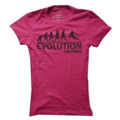 879036345ab Dámské tričko  Evoluce