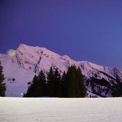 Manigod - Nocturne au top...