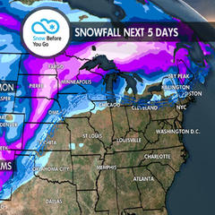 Widespread Snow Across West for New Year's: 12.27 Snow B4U Go - ©Meteorologist Chris Tomer