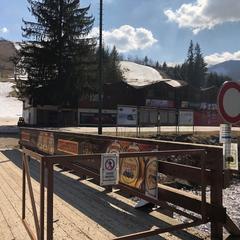 Bezpečnostno-operatívna jednotka Horskej služby kontrolovala, či sú lyžiarske strediská a horské chaty zatvorené - © HZS