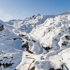 Excellent enneigement à Cauterets pour le lancement de la saison de ski - © Office de Tourisme de Cauterets