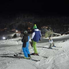 LabelleBox soirée au ski à Manigod - © Labellemontagne