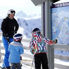 ski en famille sybelles - © Agence Zoom - Christophe Pallot