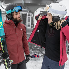 Vêtements i-thermic, un rempart contre le froid au ski - © ODLO