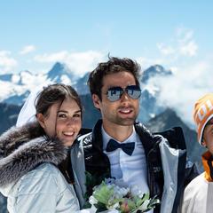 Was Tun Wenn Es Schneit Na Klar Am Besten Geht Man Skifahren