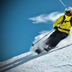 Rocker Ski ermöglichen eine leichtere Schwungeinleitung - © Skylotec