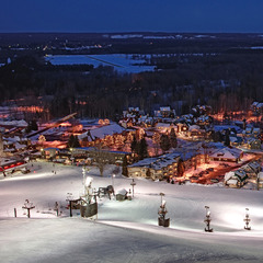 Top Family Resorts for Christmas: Crystal Mountain, Michigan ...