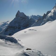 Powder on the Vallee Blanche, Chamonix - © Chamonix Tourist Office