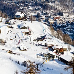 Courmayeur: Hit the slopes, then hit the shops