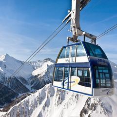 První dvoupatrová gondola na světě v Ischgl - © Andrea Badrutt/Chur