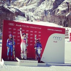 """Discesa libera: Lindsey regina a Cortina, """"WinnerHofer"""" a Wengen - ©FIS Alpine World Cup Tour"""