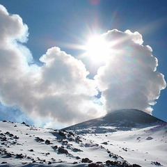 Sciare sui vulcani: Italia, Russia e Giappone