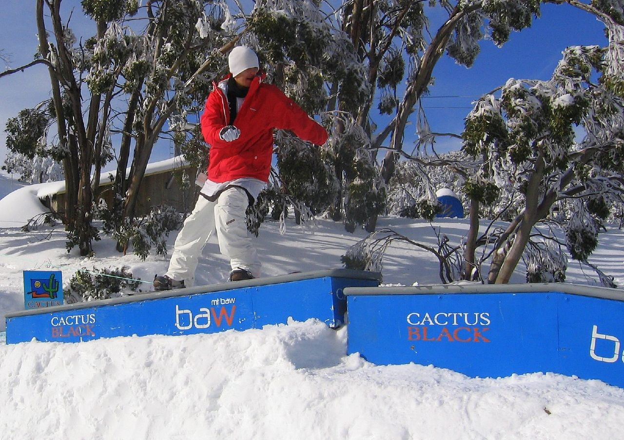 Rail Session in Mt Baw Baw (AUS)undefined