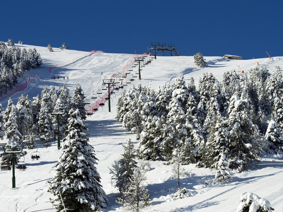 La Molina Ski Resort Resort And Ski Area Overview