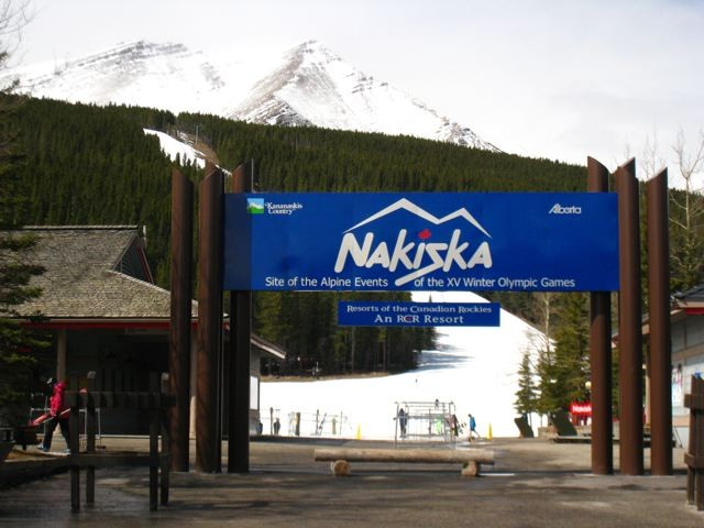 Entrace to Nakiska, Albertaundefined