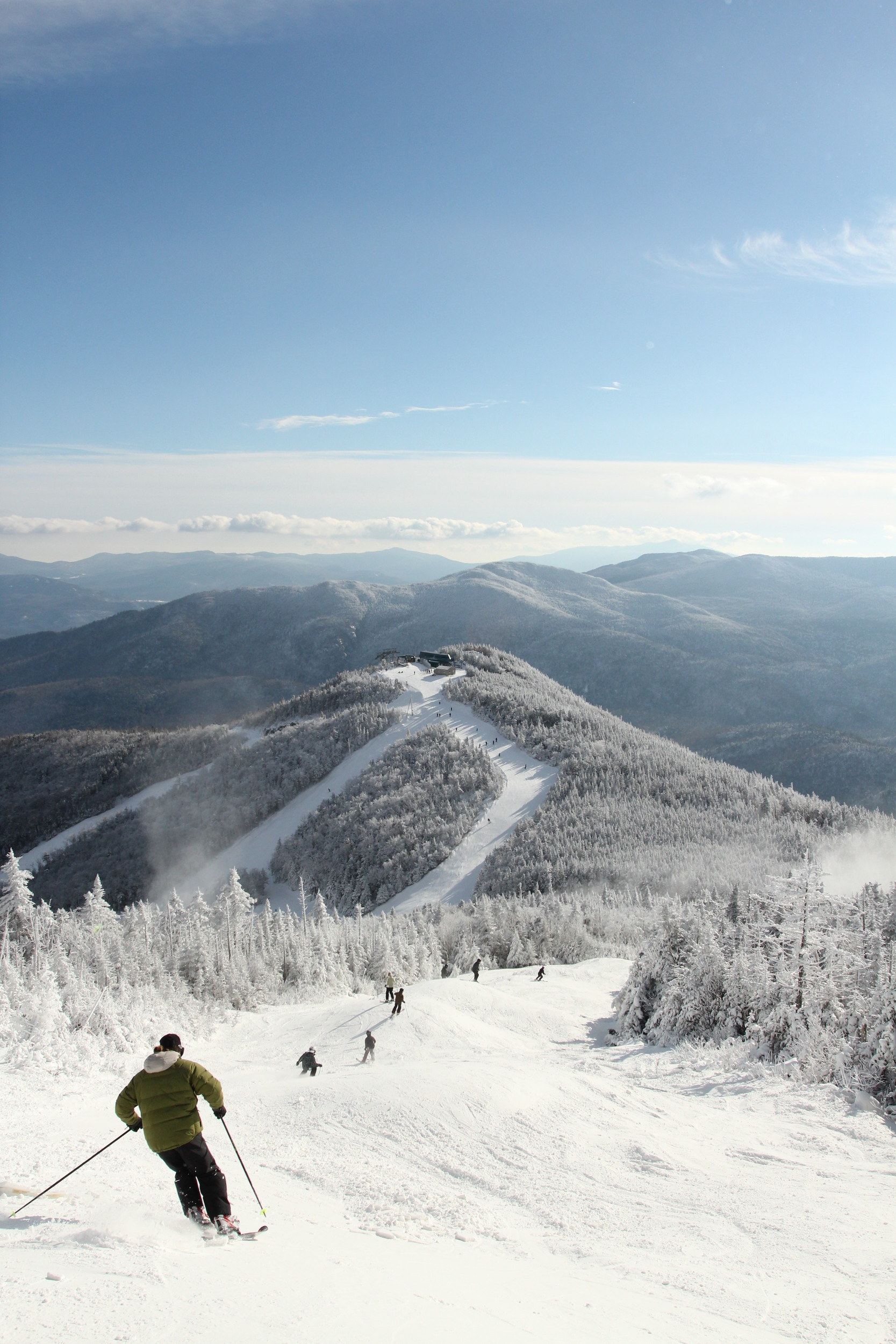 Overlooking Whiteface Mountain Resort