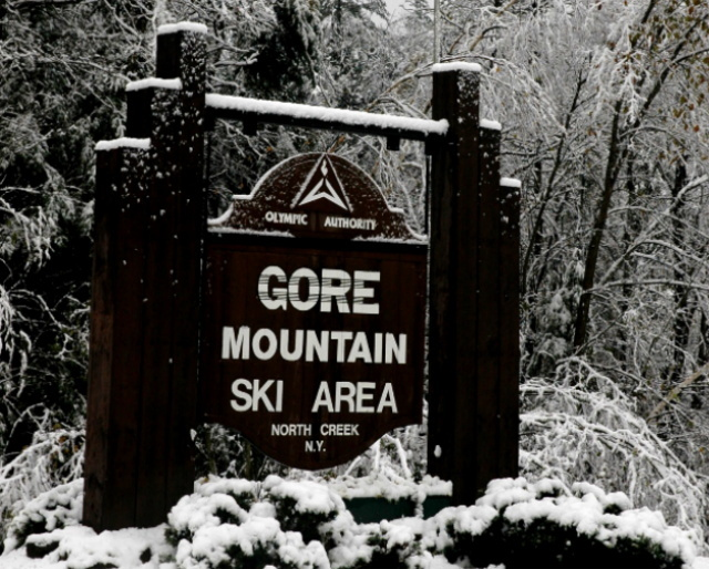 Gore Mountain sign