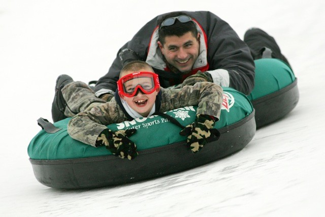 Tubing at Ski Snowstar.undefined